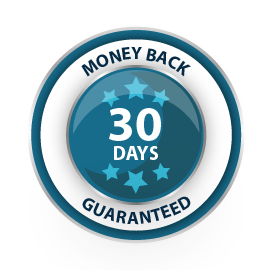 30 Days Money Back Guaranteed