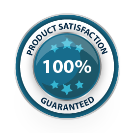 100% Product Satisfaction Guaranteed